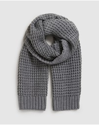 French Connection - Waffle Knit Scarf