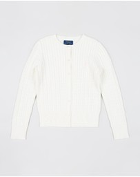 Polo Ralph Lauren - Mini Cable Cardigan - Teen