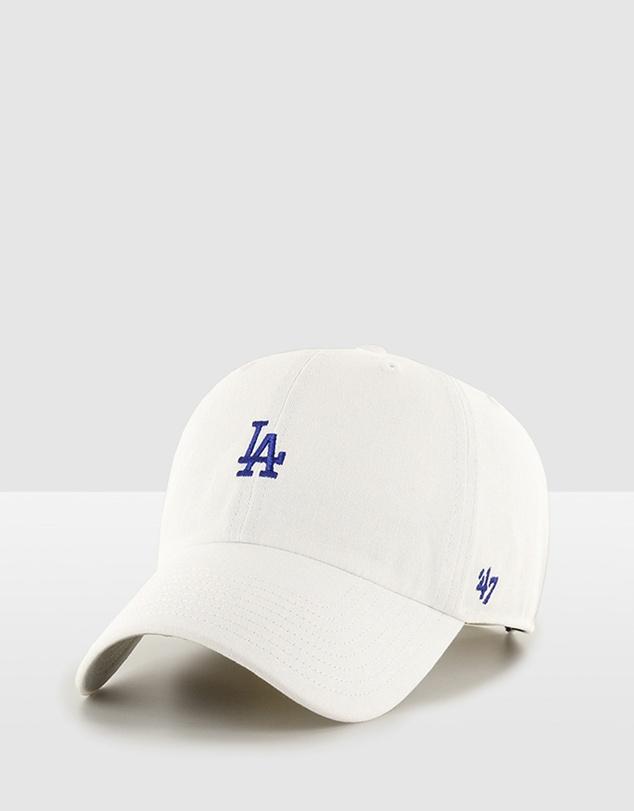 Men LA Dodgers Base Runner '47 Clean Up - White