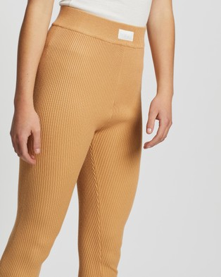 Missguided Lounge Joggers Co Ord - Leggings (Camel)