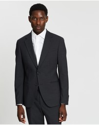 REISS - Plain Notch Slim Blazer