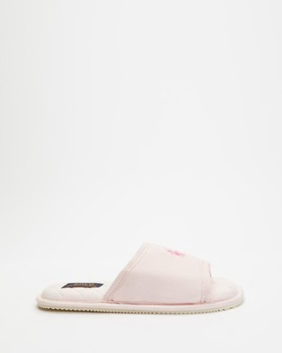 Polo Ralph Lauren Antero II Slippers   Women's - Slippers & Accessories (Light Pink)