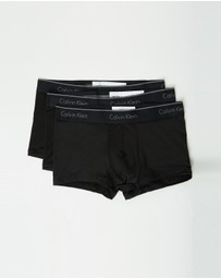 Calvin Klein - 3-Pack Micro Low Rise Trunks