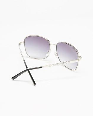 Mestige Hillcrest with Swarovski?« Crystals - Sunglasses (Silver)