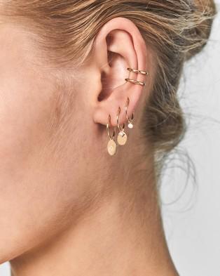 By Charlotte 14k Gold Twilight Ear Cuff   Single - Jewellery (14k Solid Gold Single Earring)