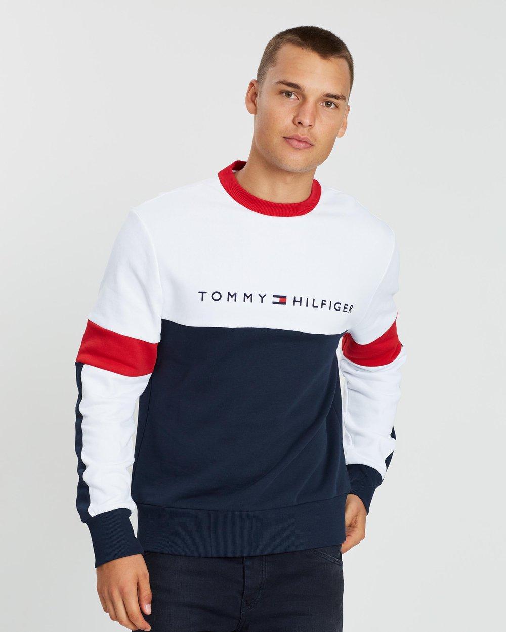 9f5e3b4288b Relaxed Stripe Sweatshirt by Tommy Hilfiger Online