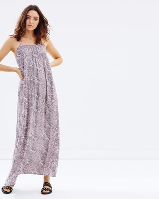 Rusty – Alpha Maxi Dress Shadow Grey