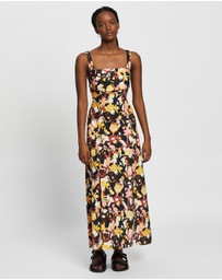 CAMILLA AND MARC - Delfino Split Skirt Dress