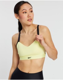 Reebok Performance - Hero Strappy Medium-Impact Padded Bra