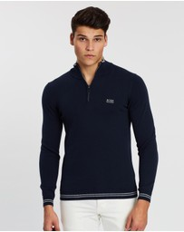 BOSS - Zimex Quarter-Zip Knit Jumper