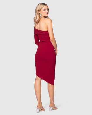 Pilgrim Winnie Dress - Bodycon Dresses (Red)