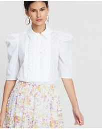 See By Chloé - Embellished Poplin Top