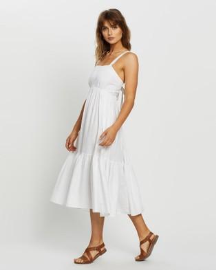 JETS Jetset Maxi Dress - Swimwear (White)