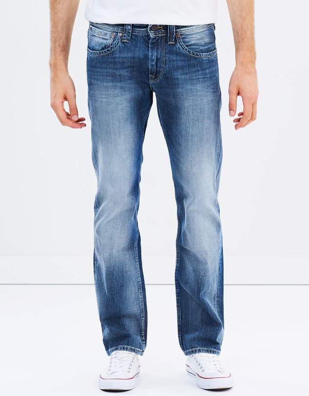 Pepe Jeans - Kingston Zip Straight Jeans