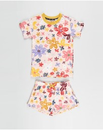 Kip&Co - Pansy T-Shirt & Shorts - Kids-Teens