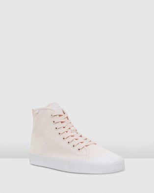 Volley Deuce High - High Top Sneakers (Blush/White)