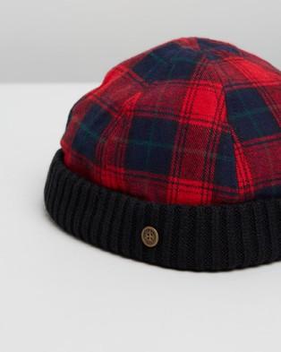 Fallen Broken Street The New Yorker - Hats (Red Tartan)