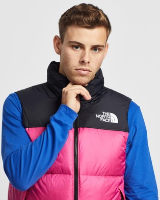 The North Face 96 Retro Nuptse Vest - Coats & Jackets (Mr. Pink)