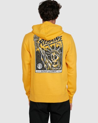 Element Liberty Hood - Jumpers & Cardigans (OLD GOLD)