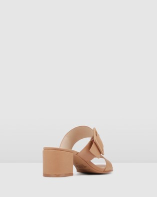 Jo Mercer Rain Low Slides - Sandals (Tan)