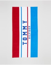 Tommy Hilfiger - Stripe Logo Towel - Teens
