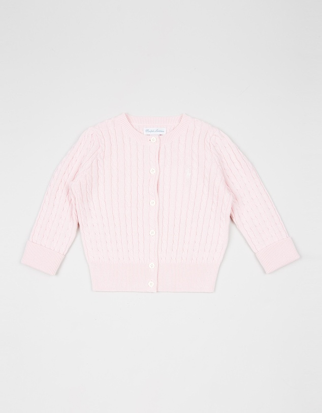 Polo Ralph Lauren - ICONIC EXCLUSIVE - Mini Cable Cardigan - Babies
