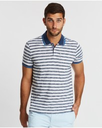 Ben Sherman - Slub Stripe Pocket Polo Shirt
