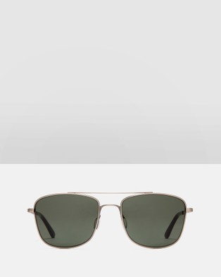 Otis In The Fade - Sunglasses (Brushed Gunmetal)