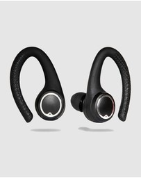 Friendie - AIR Active 2.0 Matte Black Sport Earbud (True Wireless In Ear Headphones)