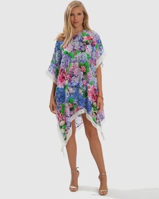 Aqua Blu Australia Blossom Kaftan - Swimwear (Blossom)