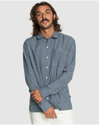 Quiksilver - Mens Originals High Long Sleeve Camp Shirt