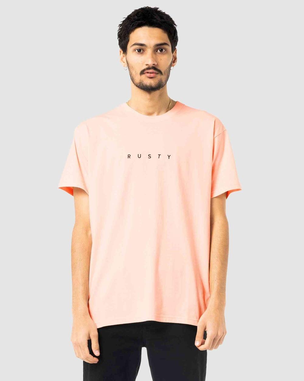 Rusty - Short Cut Short Sleeve Tee - Short Sleeve T-Shirts (PKN) Short Cut Short Sleeve Tee
