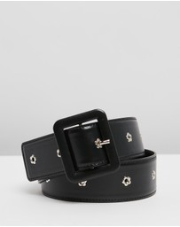 McQ by Alexander McQueen - Square Ring Belt