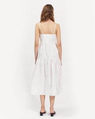 bul Loch Dress - Dresses (White)