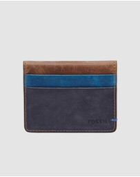 Fossil - Foster Navy Blue Wallet