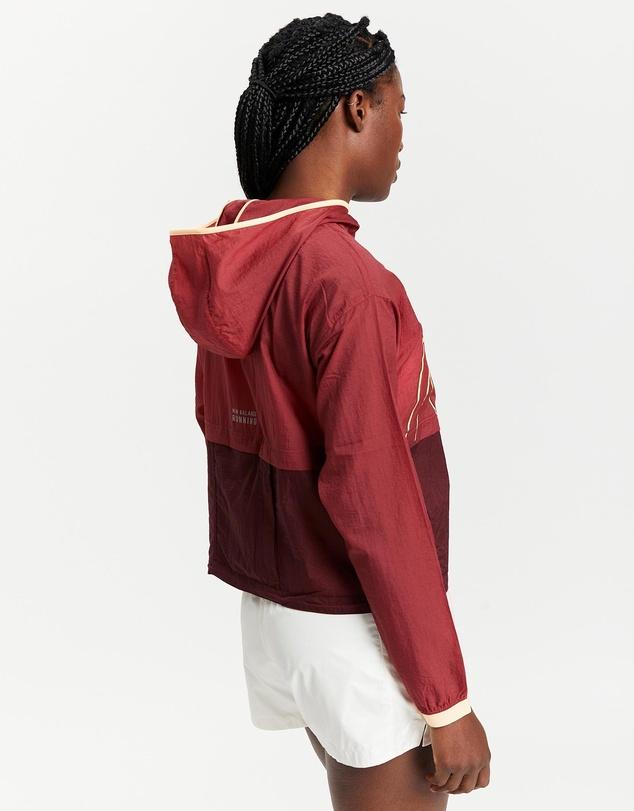 Women Printed Impact Run Light Pack Jacket