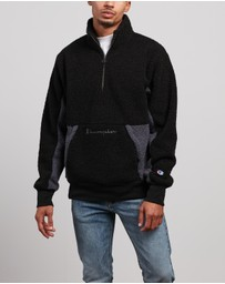 Champion - Rebound Sherpa Quarter-Zip Sweat