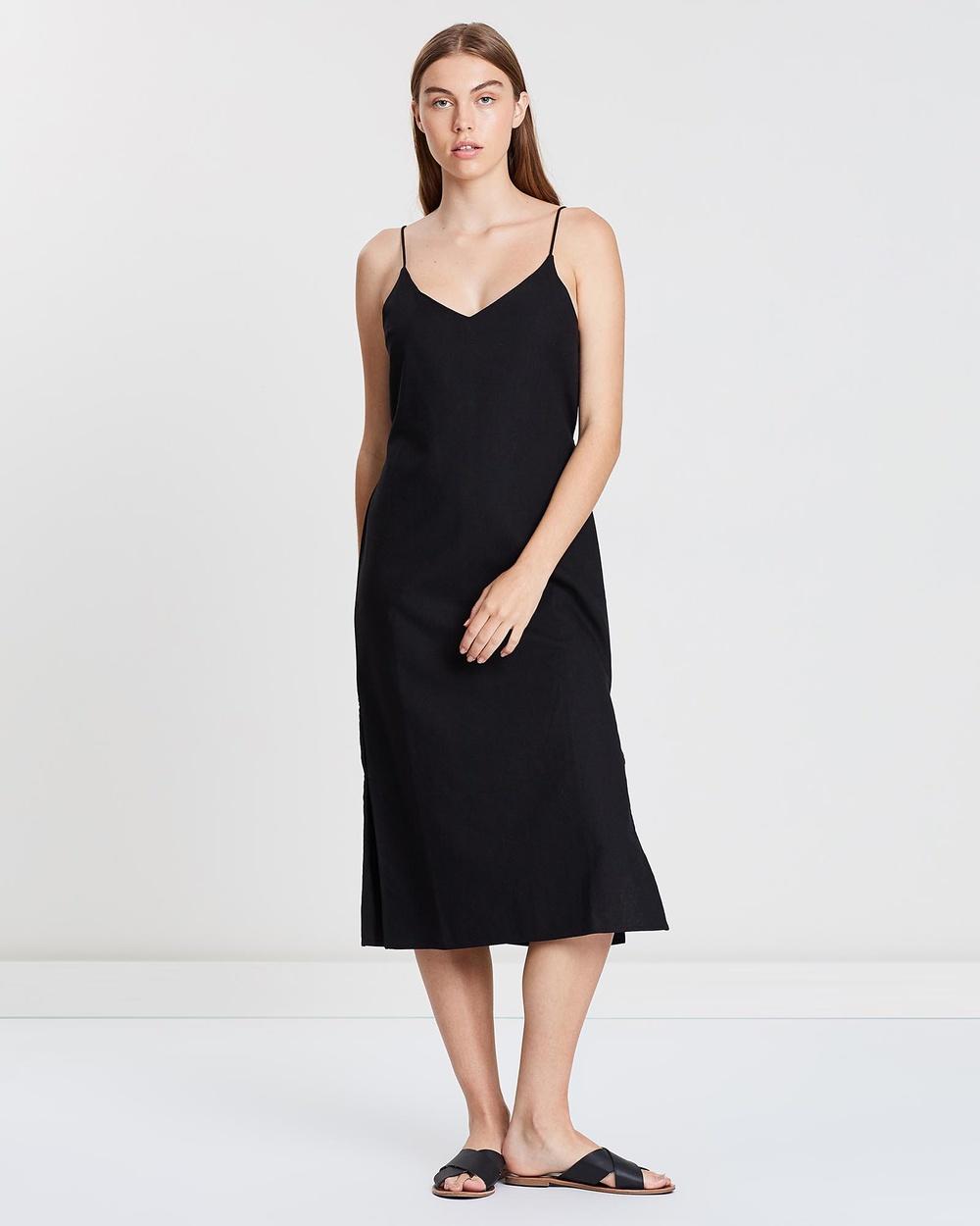 Elwood Black Kennedy Slip Dress