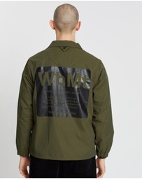 White Mountaineering - Printed Coatch Jacket