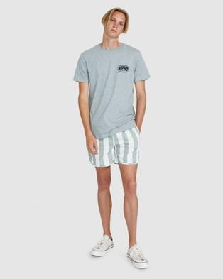 Arvust St Martin Volley Boardshorts - Swimwear (GREEN)