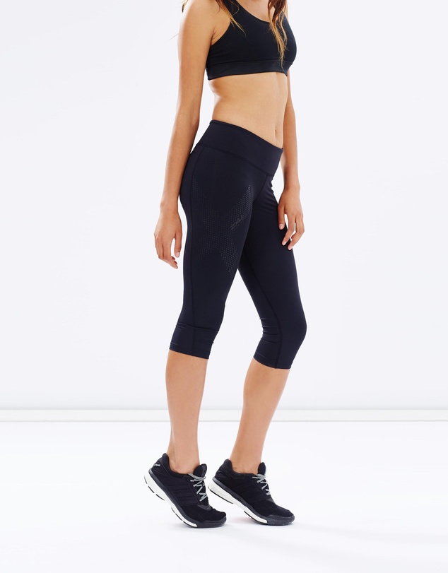 2XU - Women's Mid-Rise 3/4 Compression Tights