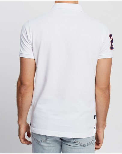 Superdry Classic Superstate Polo Shirt Optic