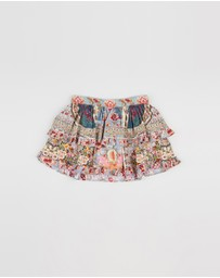 Double Layer Frill Skirt - Kids-Teens