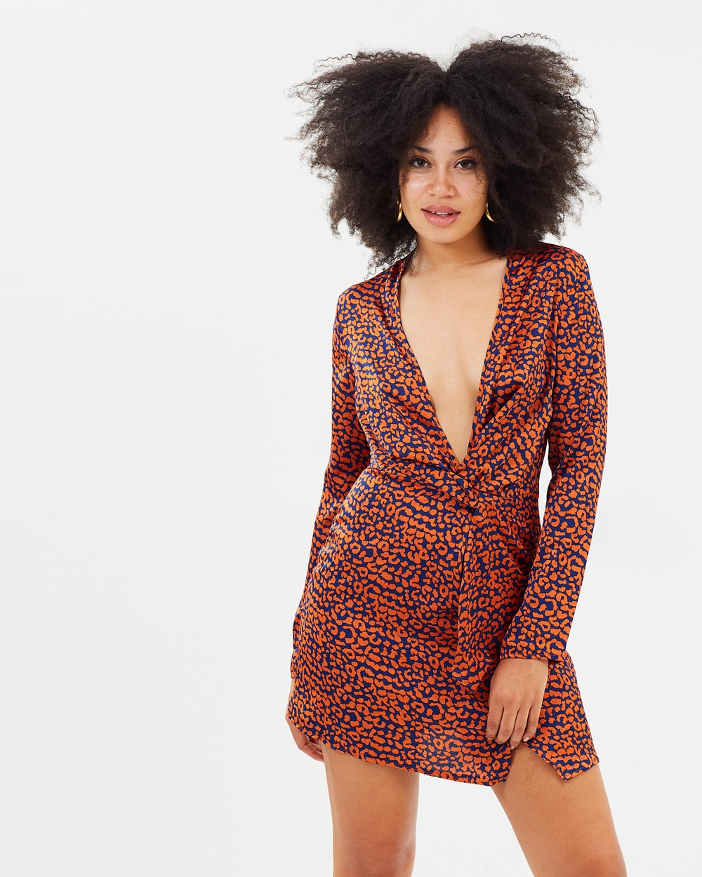 Missguided Animal Shift Dress Printed Dresses Tan Animal Shift Dress