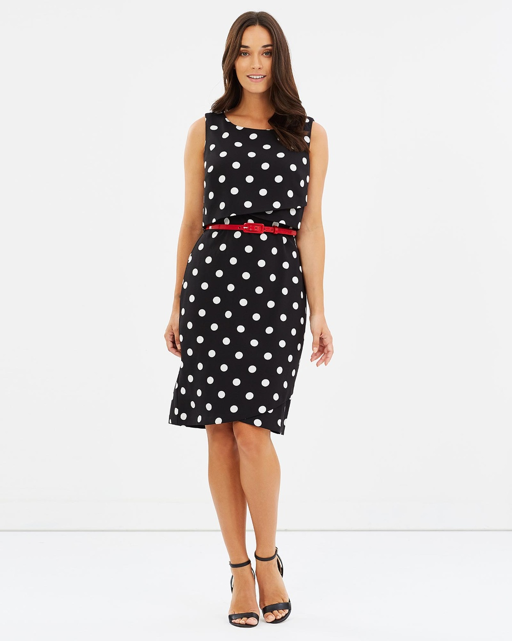 Review Lily Spot Dress Printed Dresses Multi Lily Spot Dress