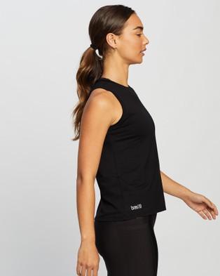 Brasilfit - Olympia Muscle Tee Tops (Black)