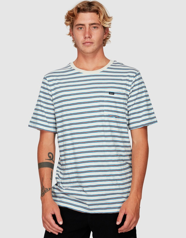 RVCA - Vincent Stripe Short Sleeve Tee