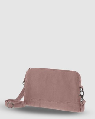 Cobb & Co Kendra Leather Crossbody - Handbags (Blush)
