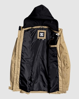 DC Shoes Mens Union Snow Jacket - Coats & Jackets (Kelp)