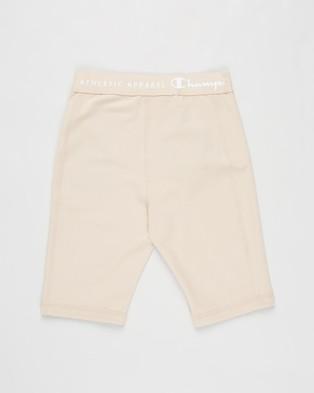 Champion - Junior Powermax Shorts Teens 1/2 Tights (Latte)